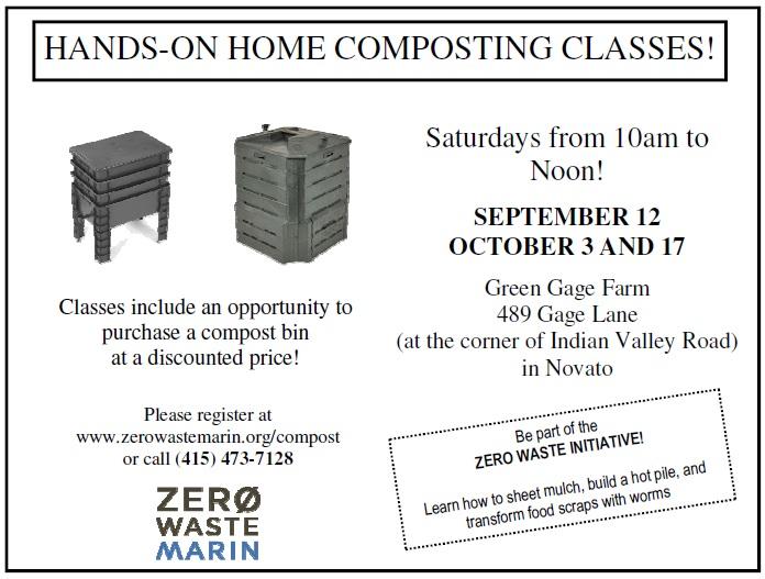Composting Postcard