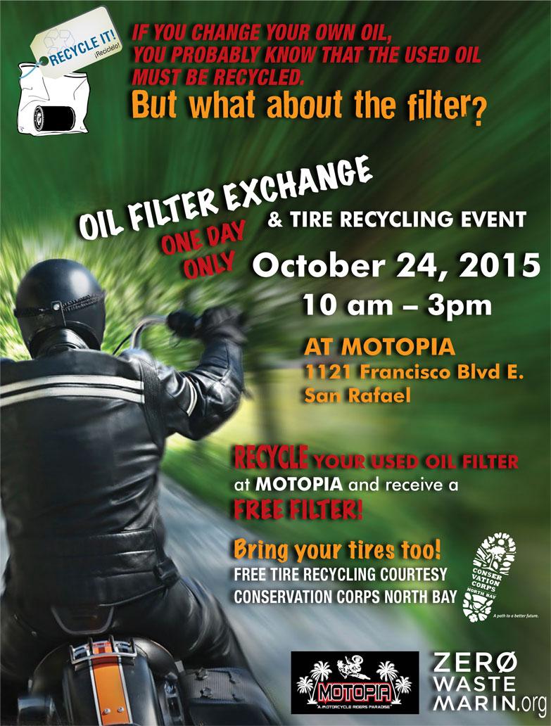 Motopia Oil Filter