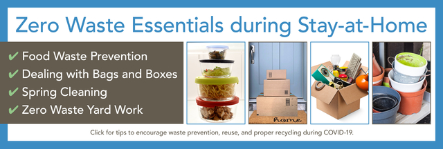 zero Waste essentials during Stay-at-Home